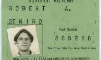 Robert De Niro cab driver