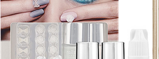 Nail Crave: Nails Inc. Bling It On Floral!