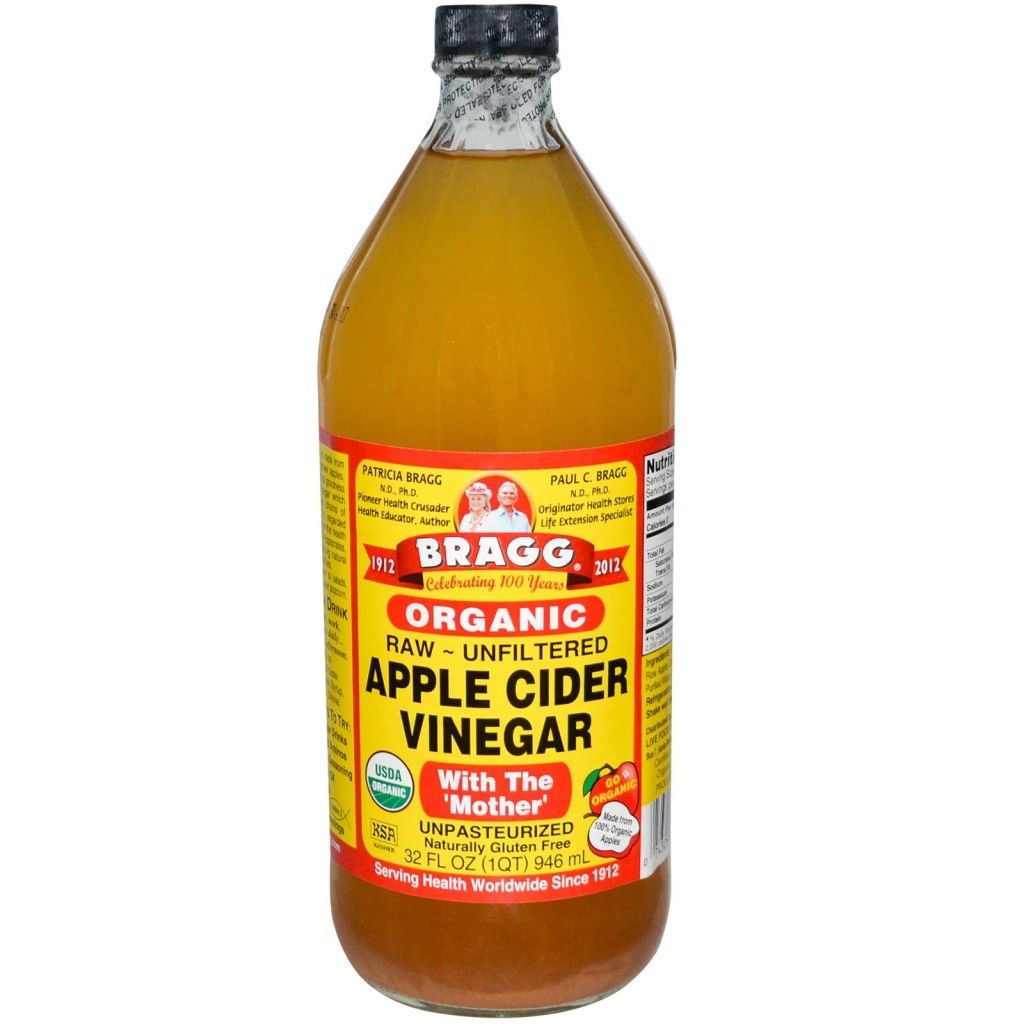 It aids in teeth whitening! Apple cider vinegar helps remove stains ...