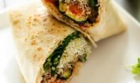 Grilled Vegetable Quinoa Wrap