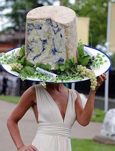 Výsledek obrázku pro craziest hats food