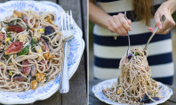 fig walnut spaghetti