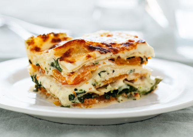 Squash & Broccoli rabe lasagna