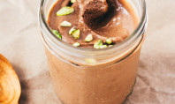 Yum Alert: Vegan Raw Chocolate Pistachio Gelato