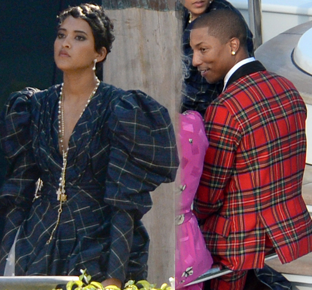 Pharrell Tartan Wedding