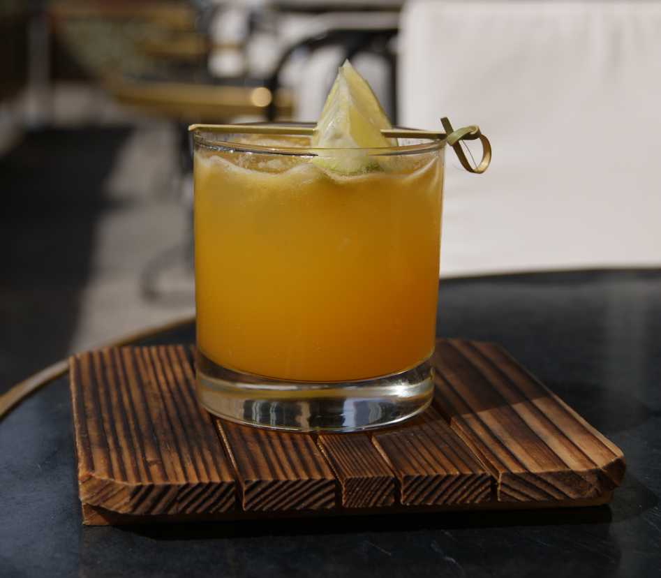 whiskey passion fizz