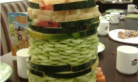 pizza hut salad towers
