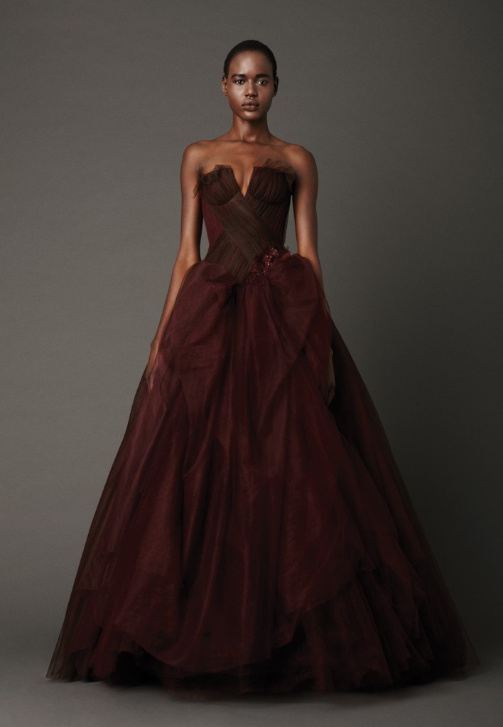 Unconventional wedding dress options for Red wedding dress vera wang