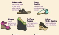 what your shoes say about you