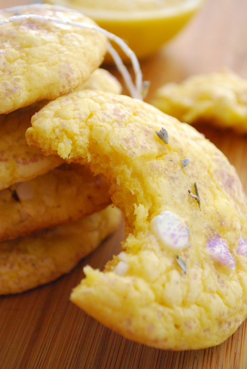 lavender lemon cookie