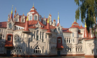 fairy tale castle school russia
