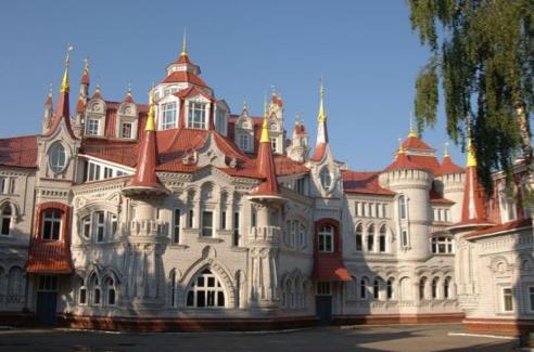 fairy tale castle school russia
