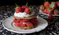 Yum Alert: Strawberry Spelt Shortcake