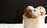 Yum Alert: Nutella Zeppole with Dark Chocolate Sauce