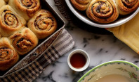 Yum Alert: Pistachio, Orange, and Dark Chocolate Cinnamon Rolls