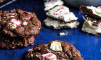 Yum Alert: Chocolate Peppermint Bark Chip Cookies