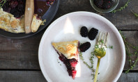 Yum Alert: Blackberry Galette with Hazelnut Crust and Thyme
