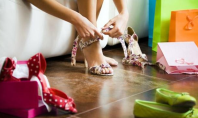 Mariah Serrano prosthetic leg heels
