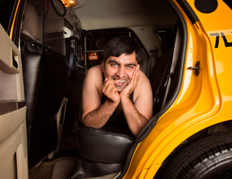 new york cab drivers pinup calendar