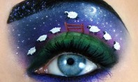 Bored of Nail Art? Trying Turning Your Eyelids Into A Work of Art