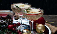 Yum Alert: Spiced Apple-Rosemary Sparkler