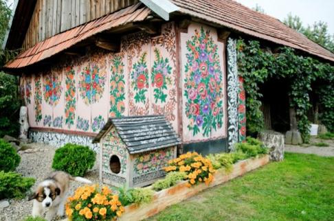 Zalipie, painted village, poland