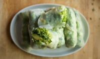 Yum Alert: Spring-y Spring Rolls with Carrot Ginger Miso Sauce