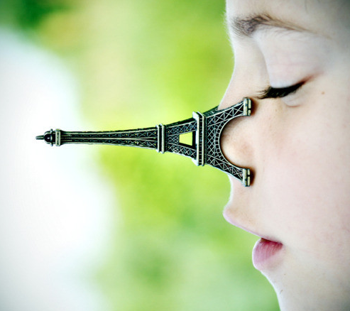 Eiffel Tower nose jobs