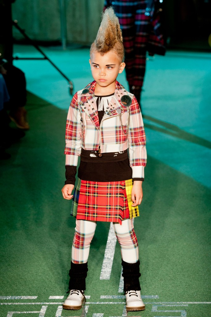 The Various Walks of Life at Jean Paul Gaultier A/W 2014