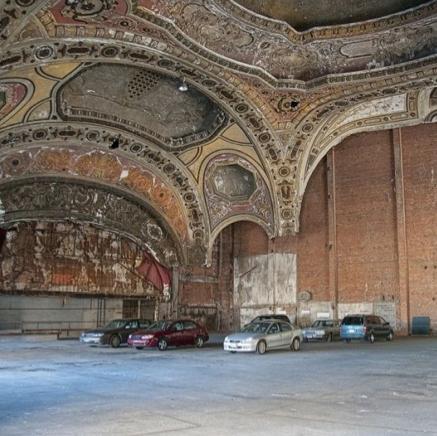 michigan theatre parking garage