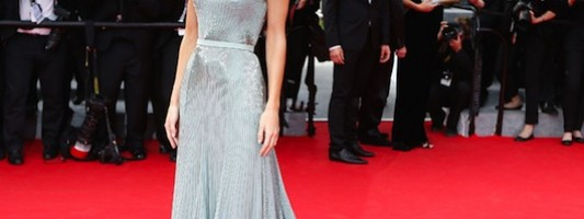 Models Storm The Cannes Red Carpet