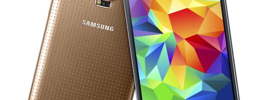 Copper Gold Samsung Galaxy S5: yay!