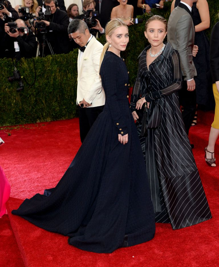 mary kate and ashley olsen 2014 met gala