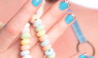 DIY Candy Tipped Nails