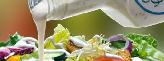 Titanium Dioxide in Salad Dressing