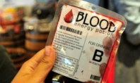 blood drinks China
