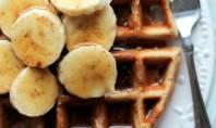 Yum Alert: Gluten Free Banana Chip Quinoa Waffles