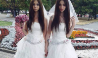 Russian same sex wedding