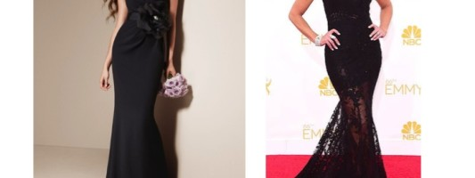 Look for Less: Nancy O'Dell at the 2014 Emmys