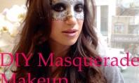 DIY Ice Princess Masquerade Makeup Tutorial