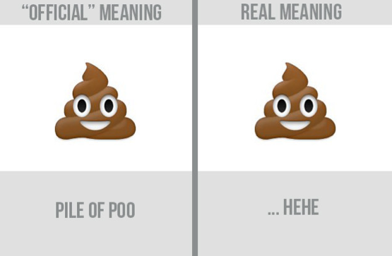 real emoji meanings