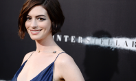 Anne Hathaway's Beauty at the Interstellar Premiere