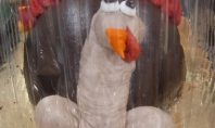 thanksgiving penis cake