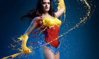 superhero body paint