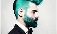 bright dyed beards