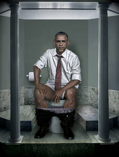 world leaders pooping