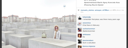 Fashion Blogging the #Holocaust