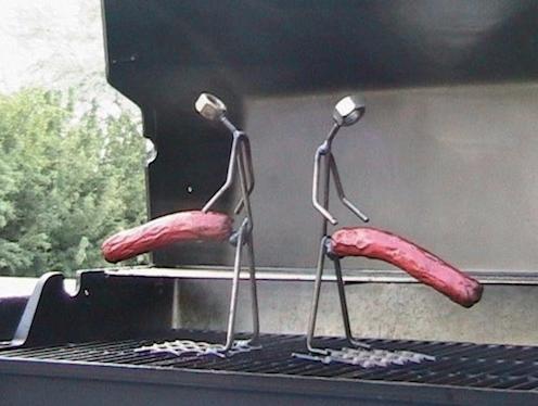 burned penis