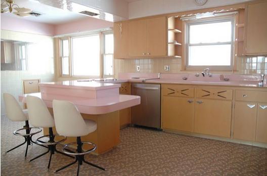 sexist 1950s kitchen