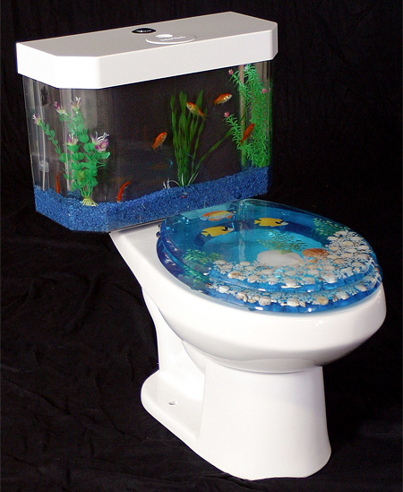 Fish Tank Toilet It S A Thing The Luxury Spot